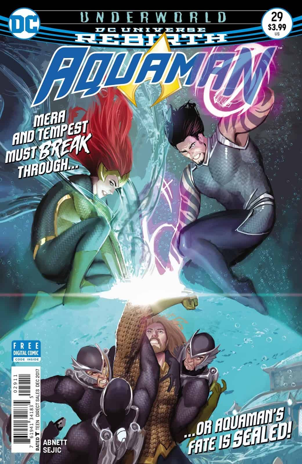 Underworld, Part 5 (Aquaman #29 Review) - Comic Watch