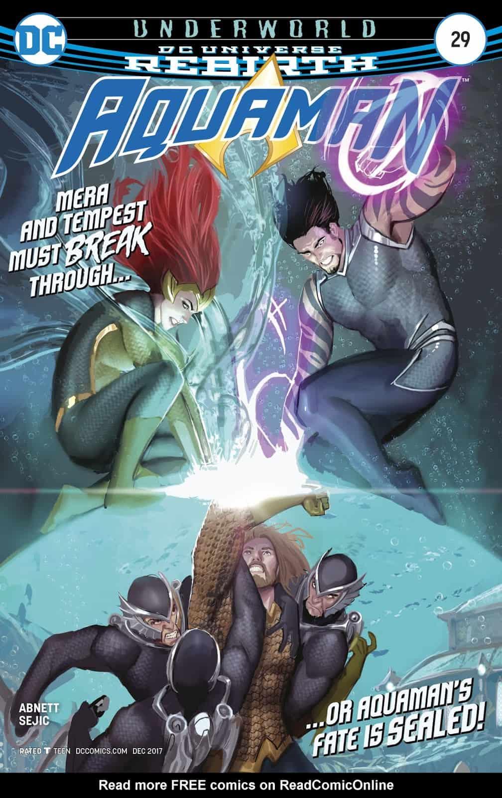 Underworld-Part 5- Speak Truth to Power  (Aquaman #29 Comic Review