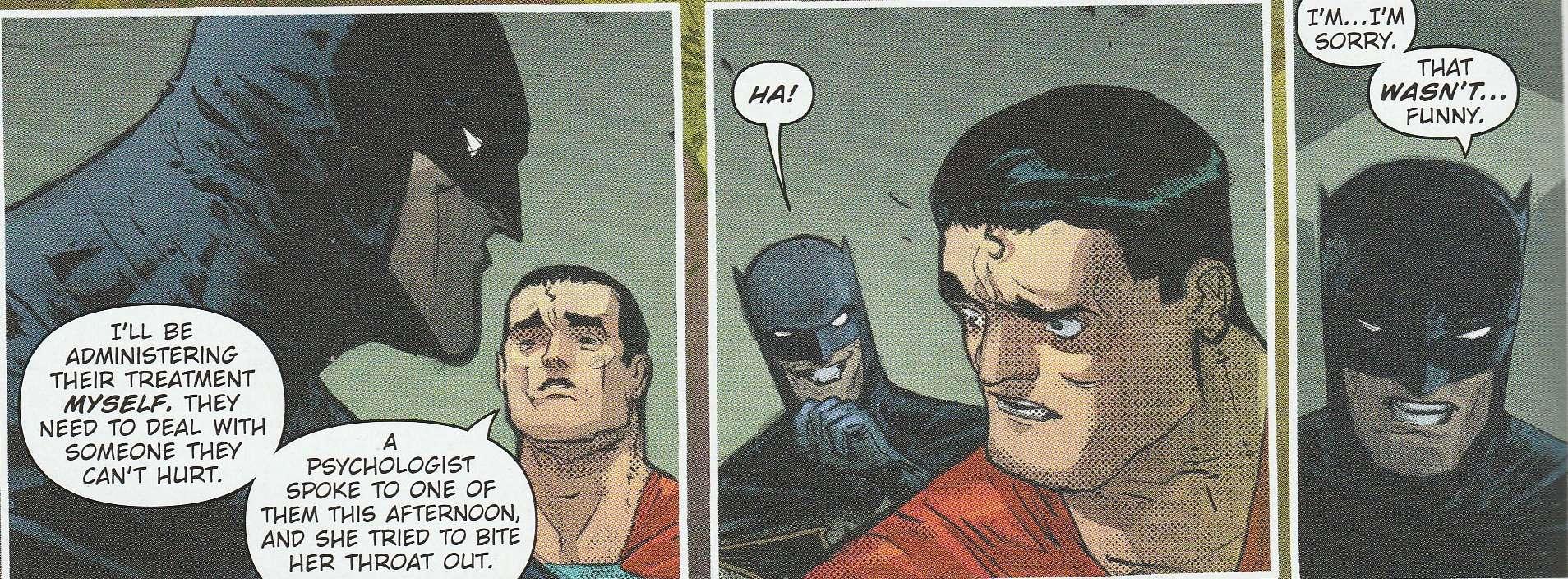 batman laughs