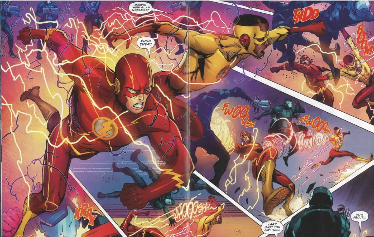Black Hole Rising Part Two Flash 35 Comic Watch