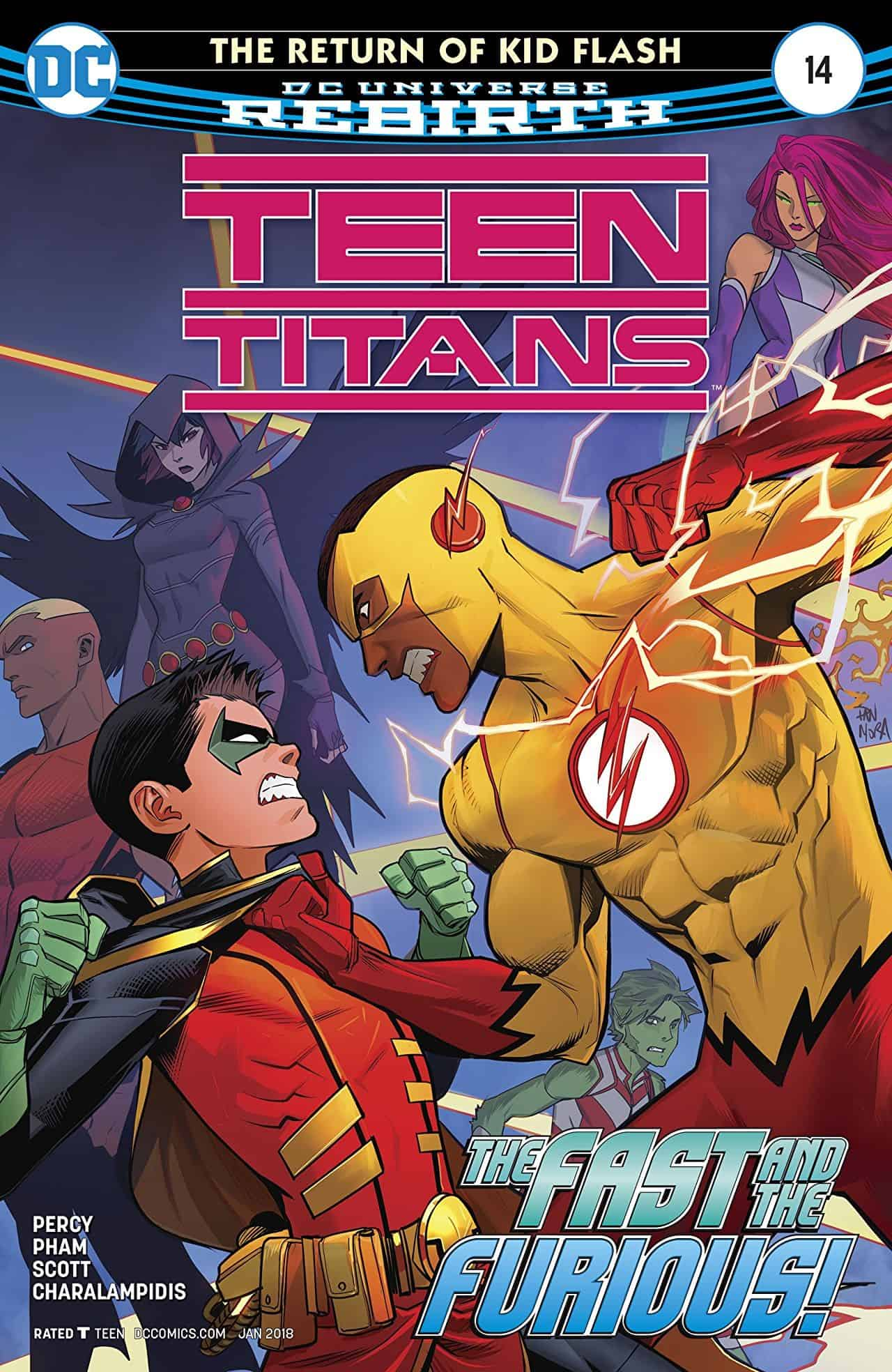 The Return Of Kid Flash, Finale Teen Titans 14 Comic -6941