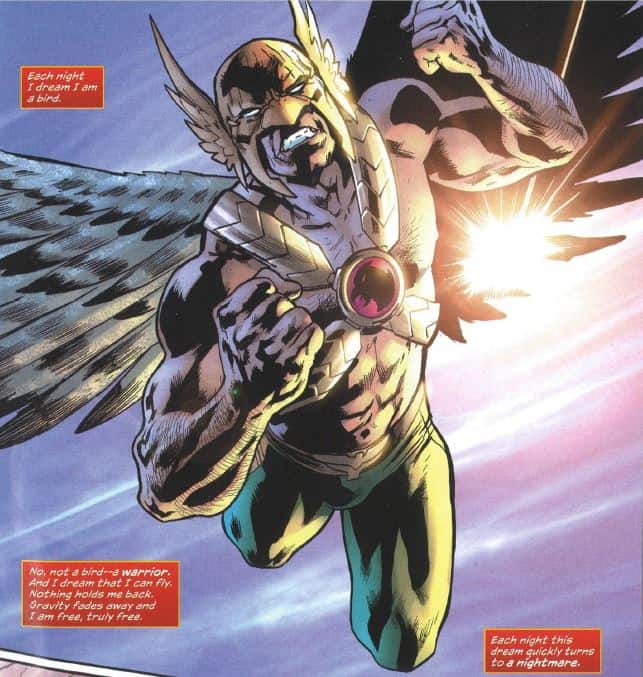 Hawkman Found #1_page one