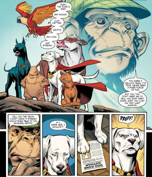 Animal Planet: The Super-Pets Last Mission (Super Sons Annual #1