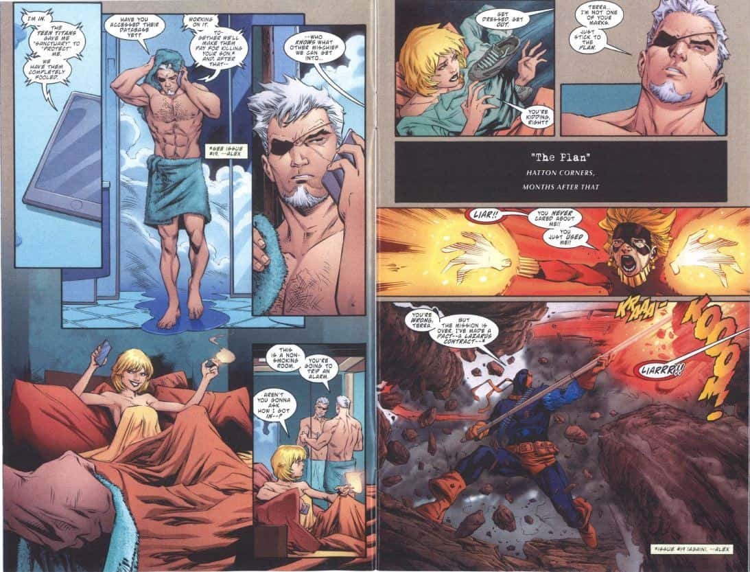 Deathstroke 27_pages 4 and 5