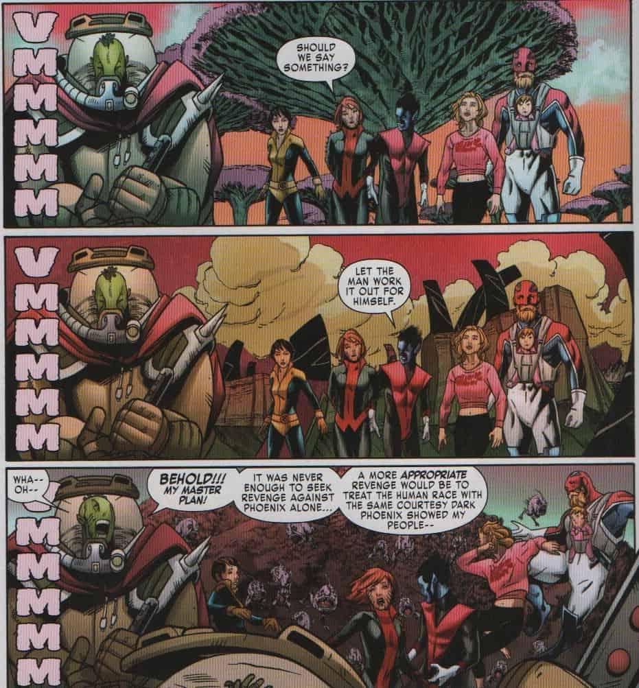 Revenge Of The Dbari X Men Gold Annual 1 Comic Review