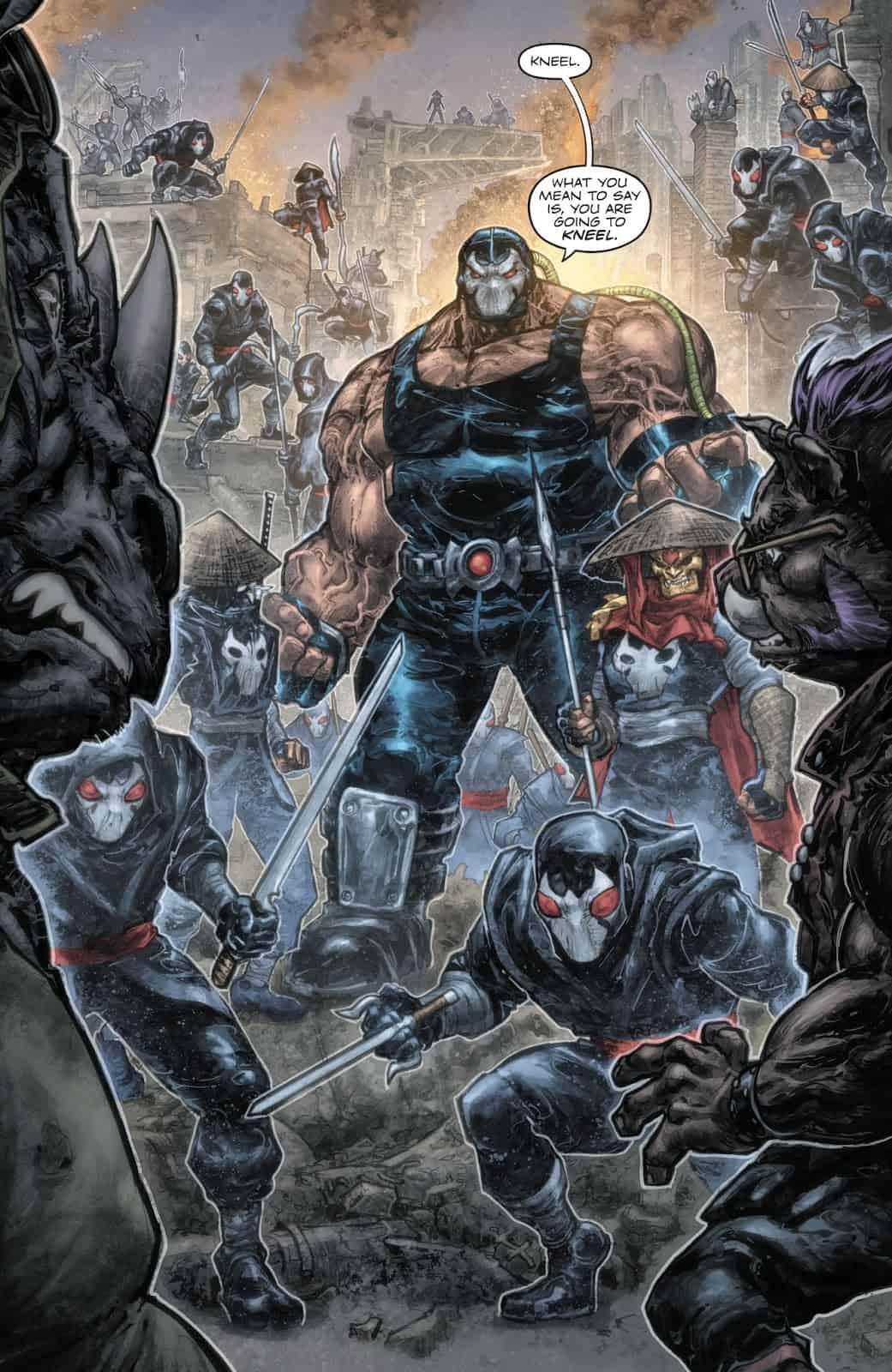 Back to NY City ( Batman/TMNT #2 Review) - Comic Watch