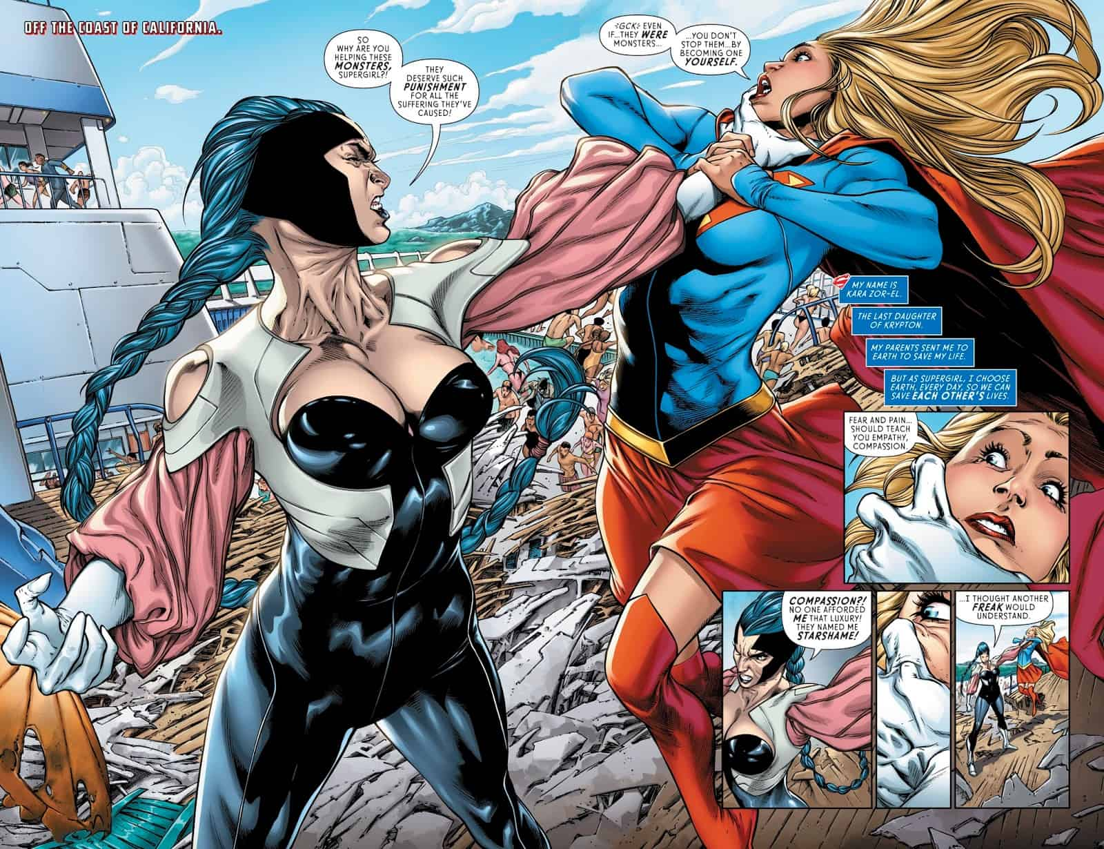 Supergirl 17_pages 2 and 3