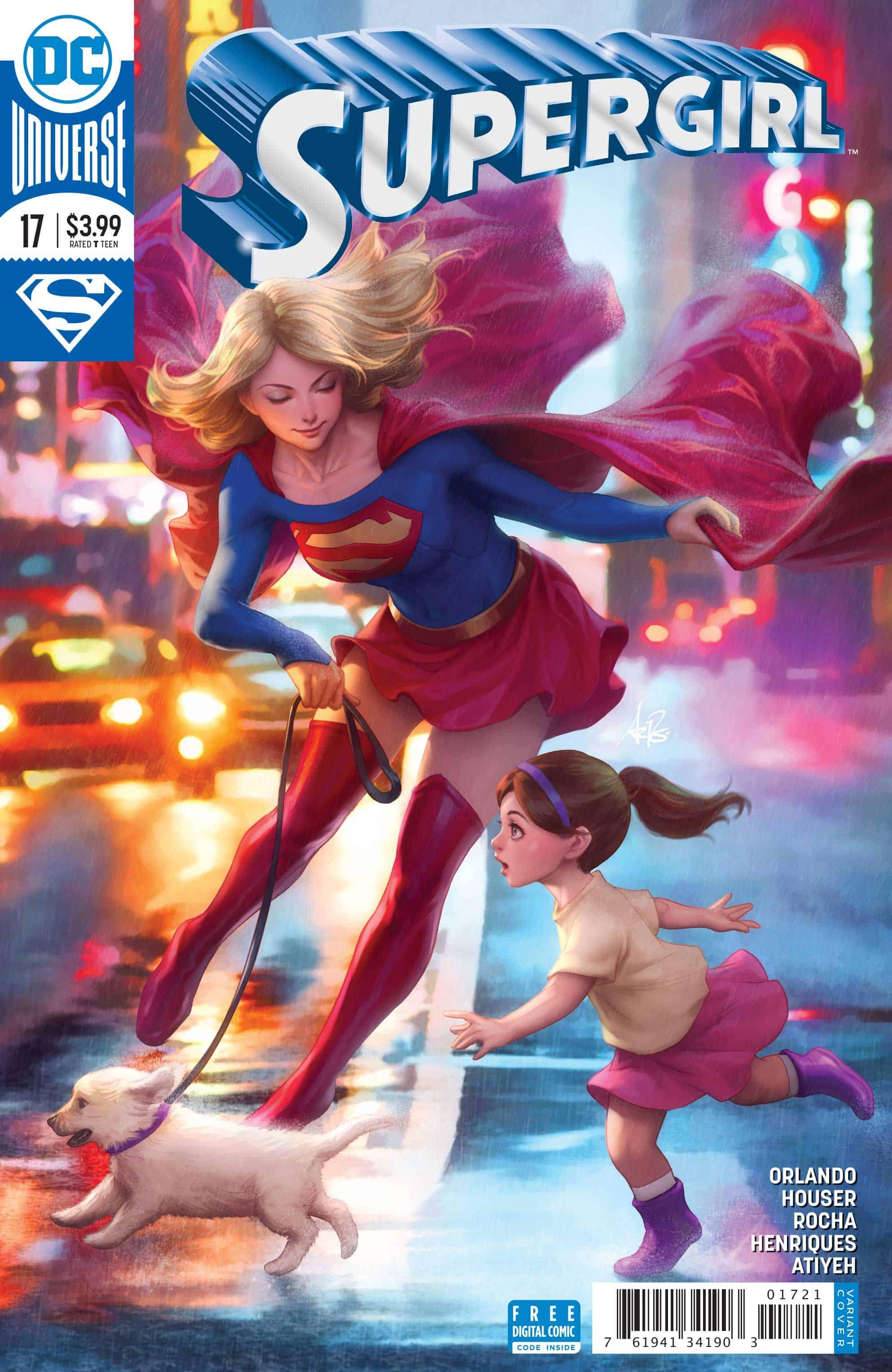 Supergirl 17_variant cover