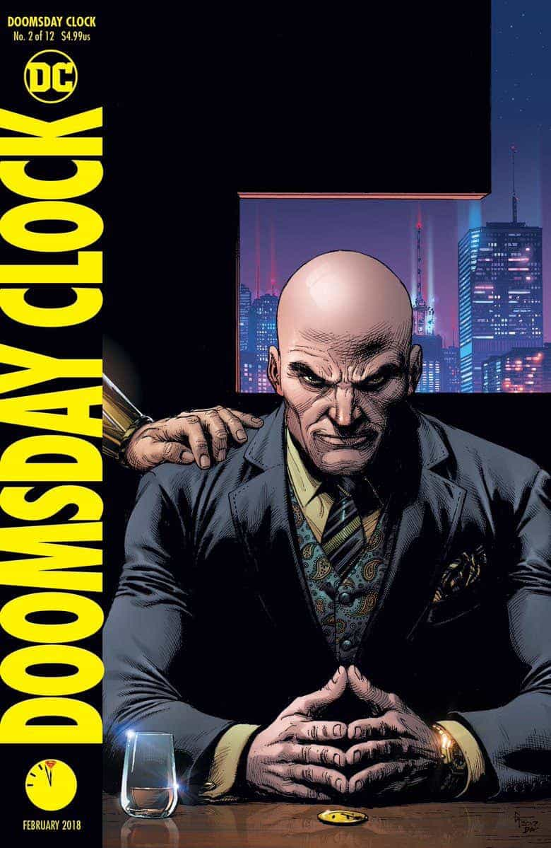 Black And White Meets Grey And More Grey Doomsday Clock 2 Comic
