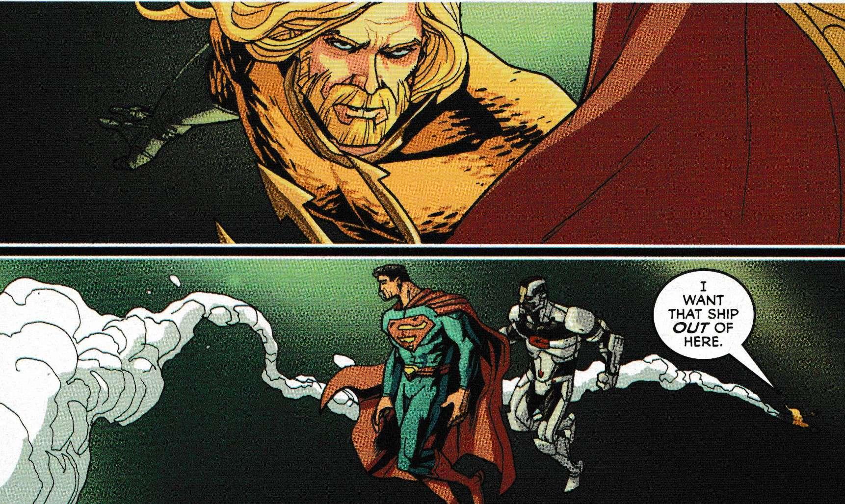 Aquaman pissed