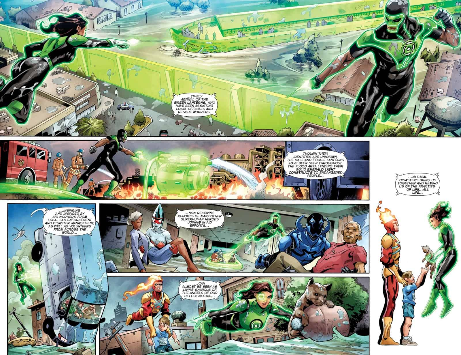 Review Green Lanterns 40 Caught In A Caper Or Lanterns Swipe