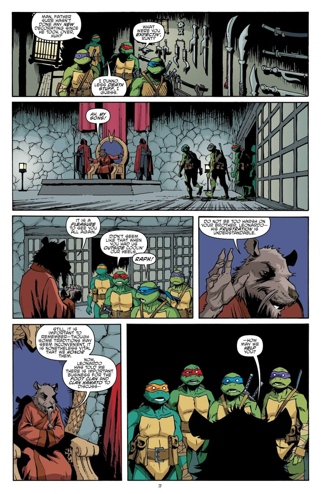 REVIEW: TMNT #78 (My Dad Punched a Dinosaur!) - Comic Watch