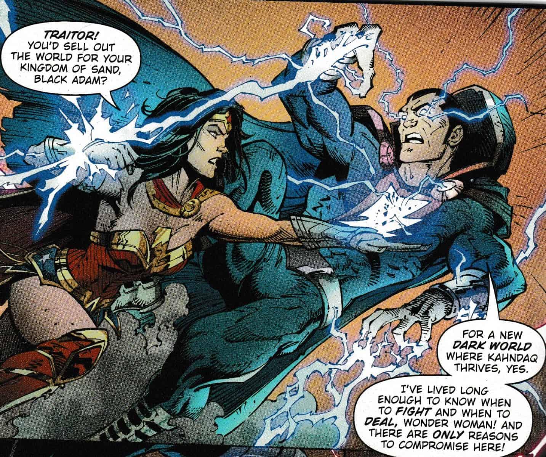 Wonder woman vs shazaam 2