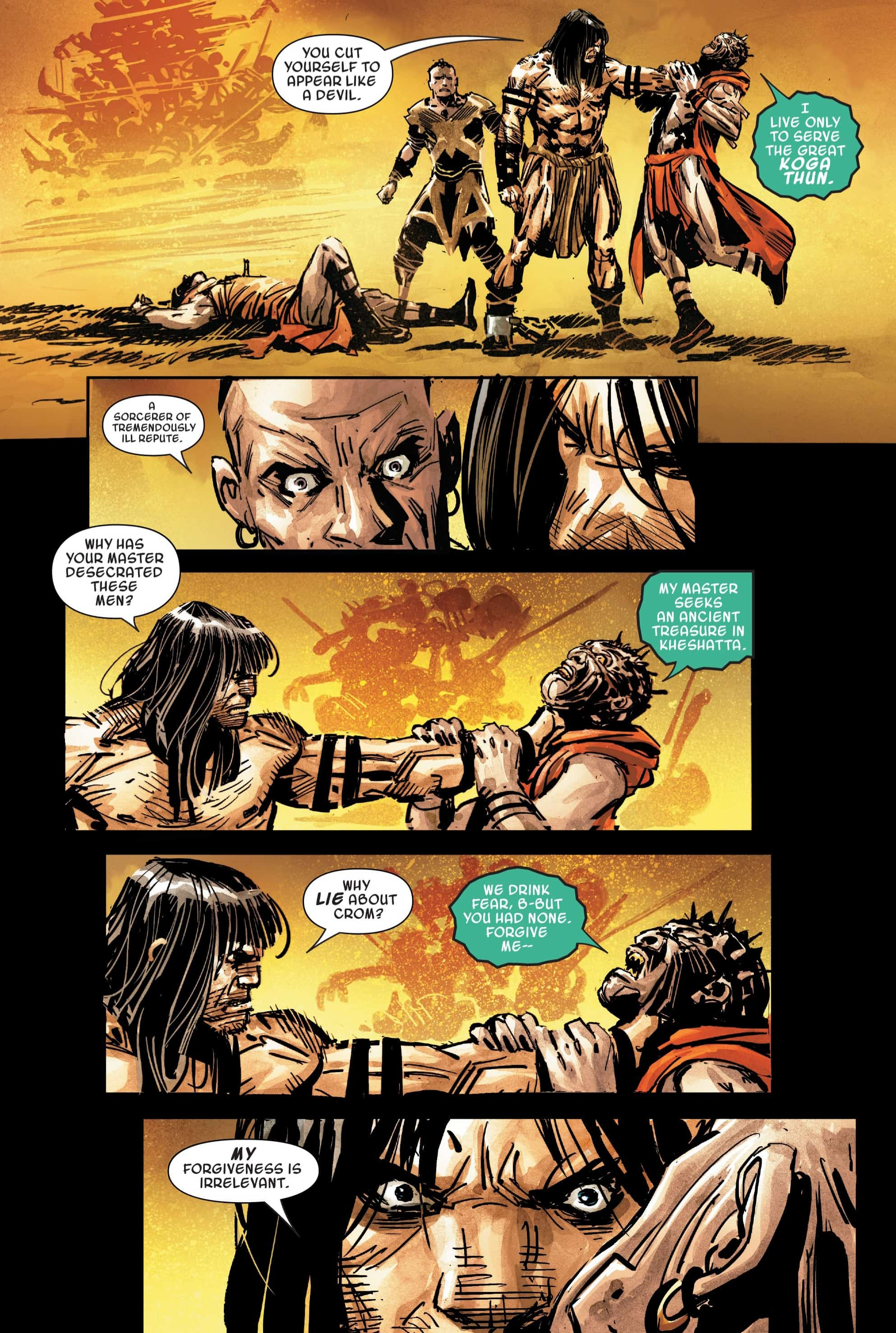 Savage Sword of Conan #2: Confronting the Cult - Comic Watch