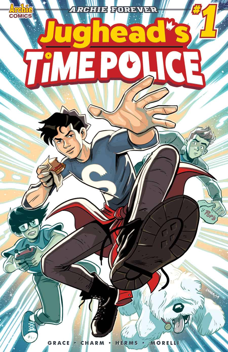 FIRST WATCH: JUGHEAD'S TIME POLICE Returns to the Future in June