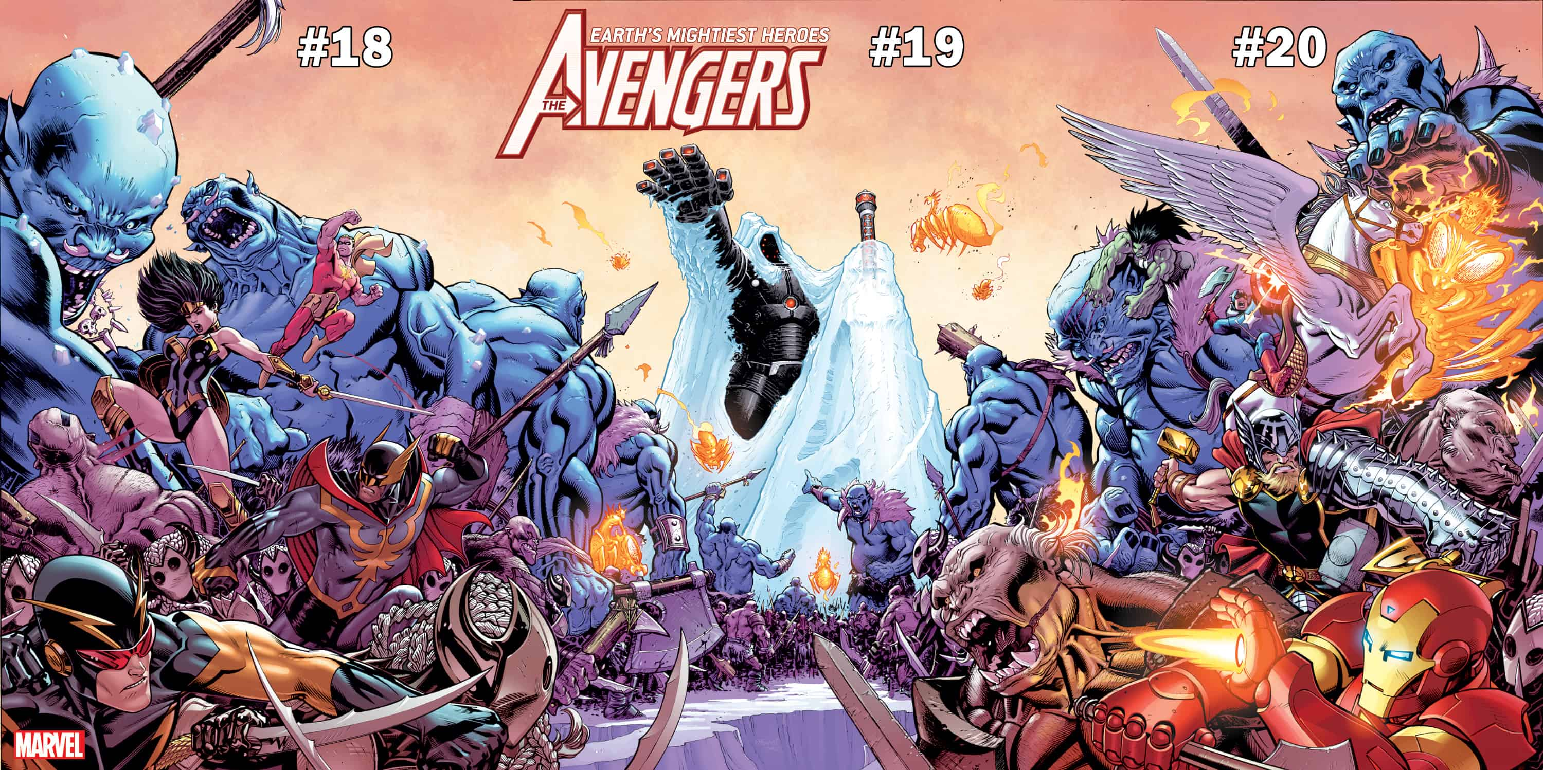 FIRST WATCH: The Avengers Join the Battle in War of The Realms
