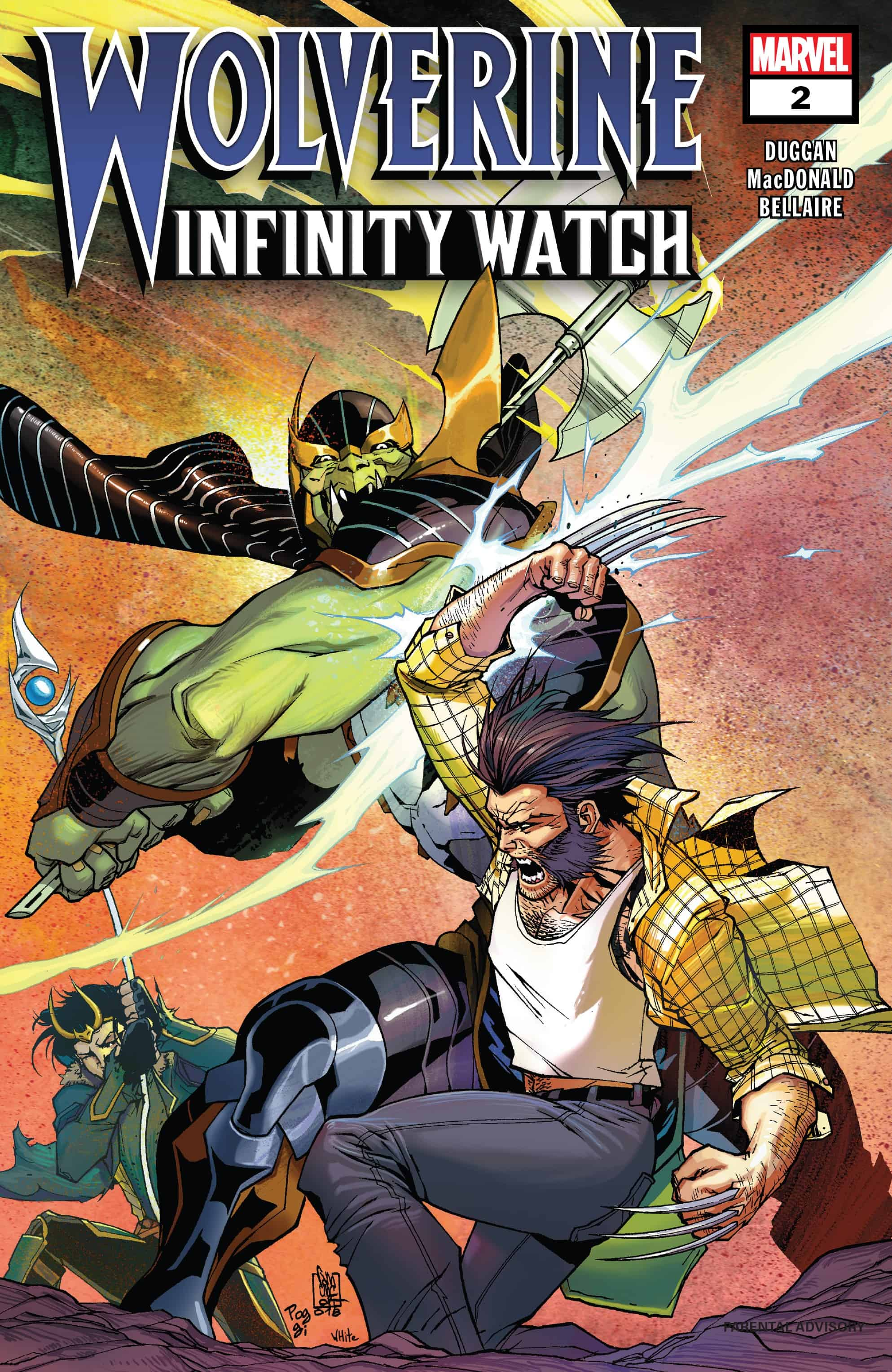 Wolverine: Infinity Watch #2 (of 5): Marvel Team-Up Featuring