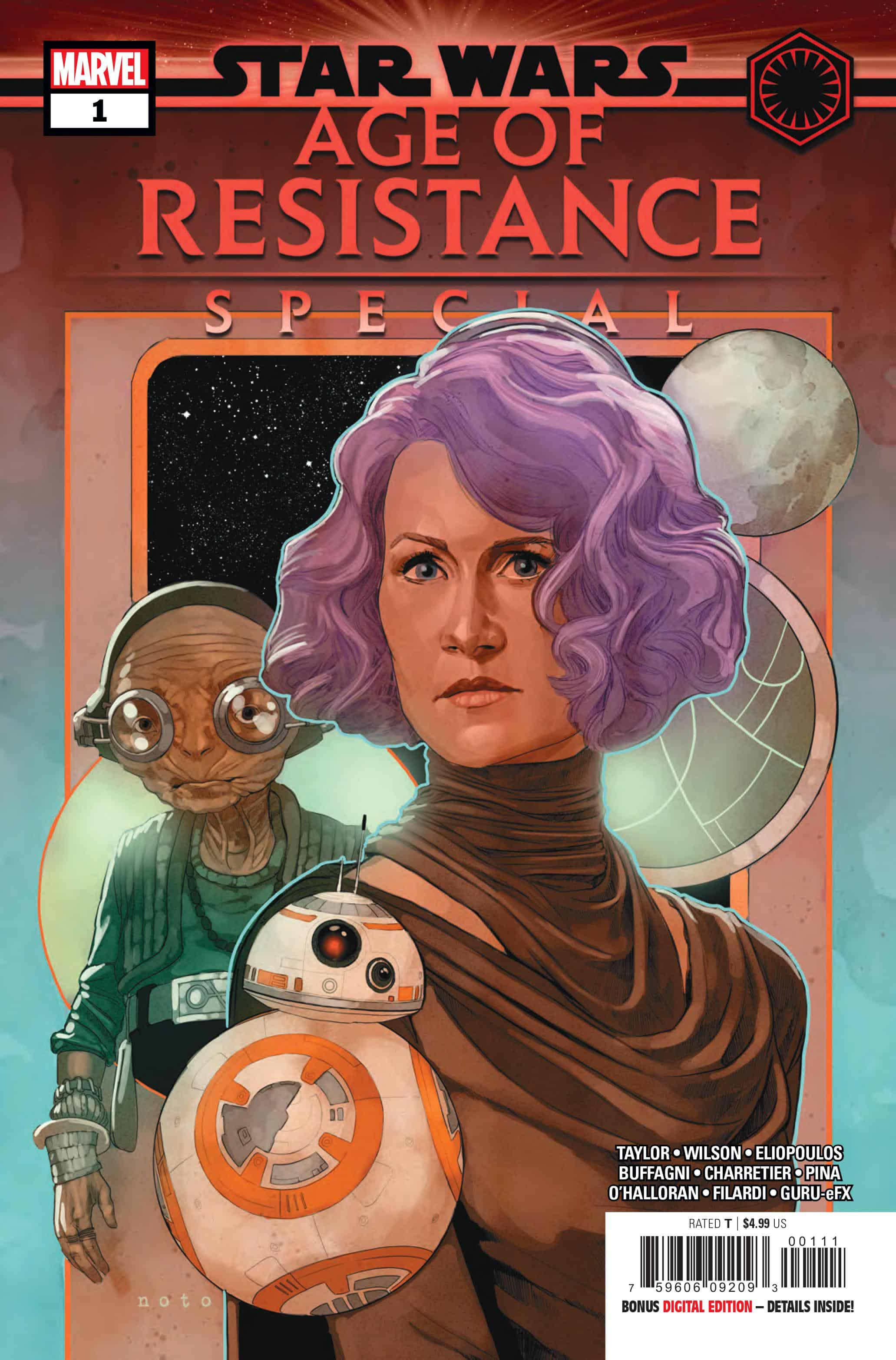 Star Wars Age of Resistance Speciale