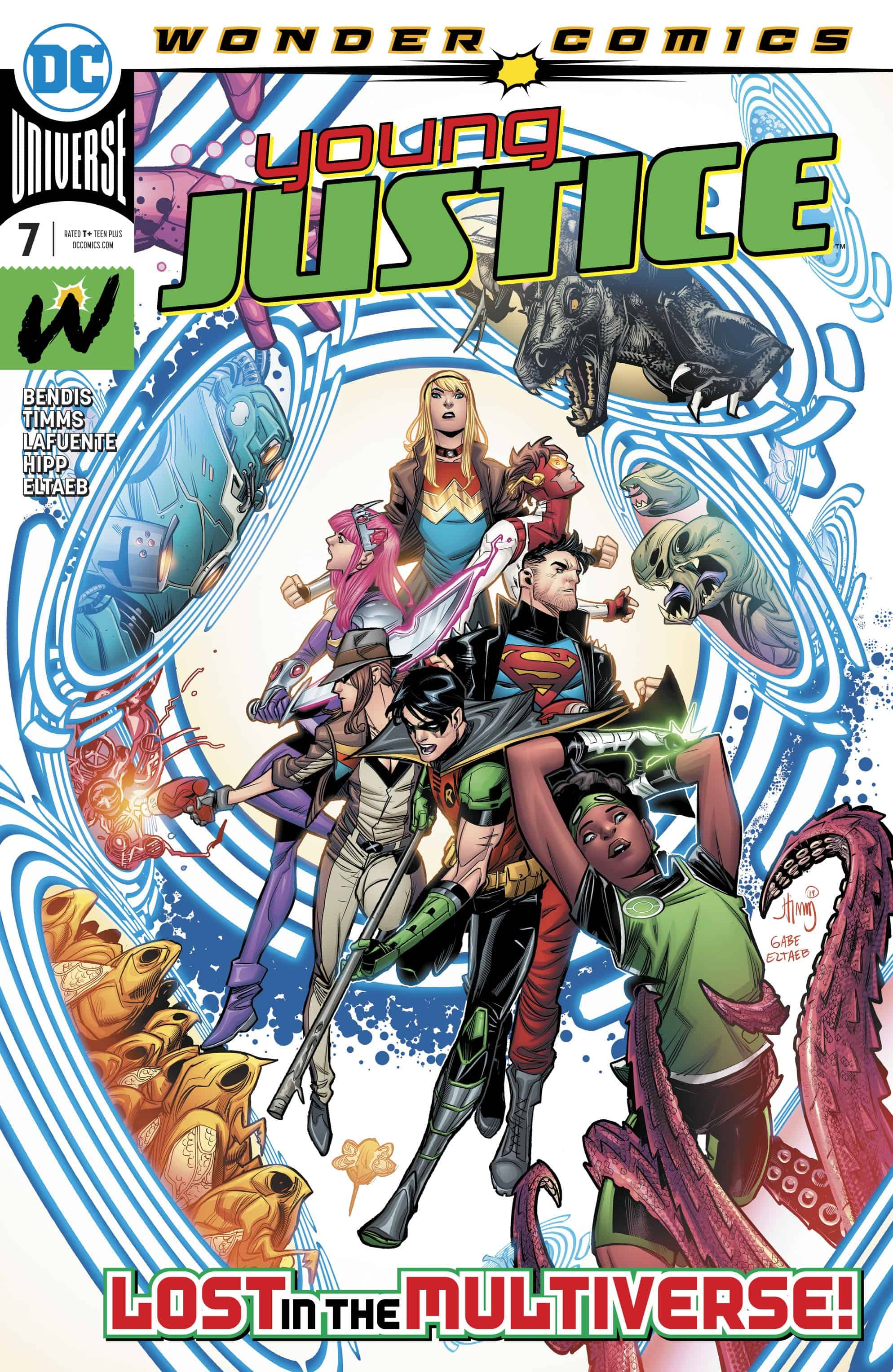 Young Justice #7: The Multiverse Map...I Had it Around Here ...