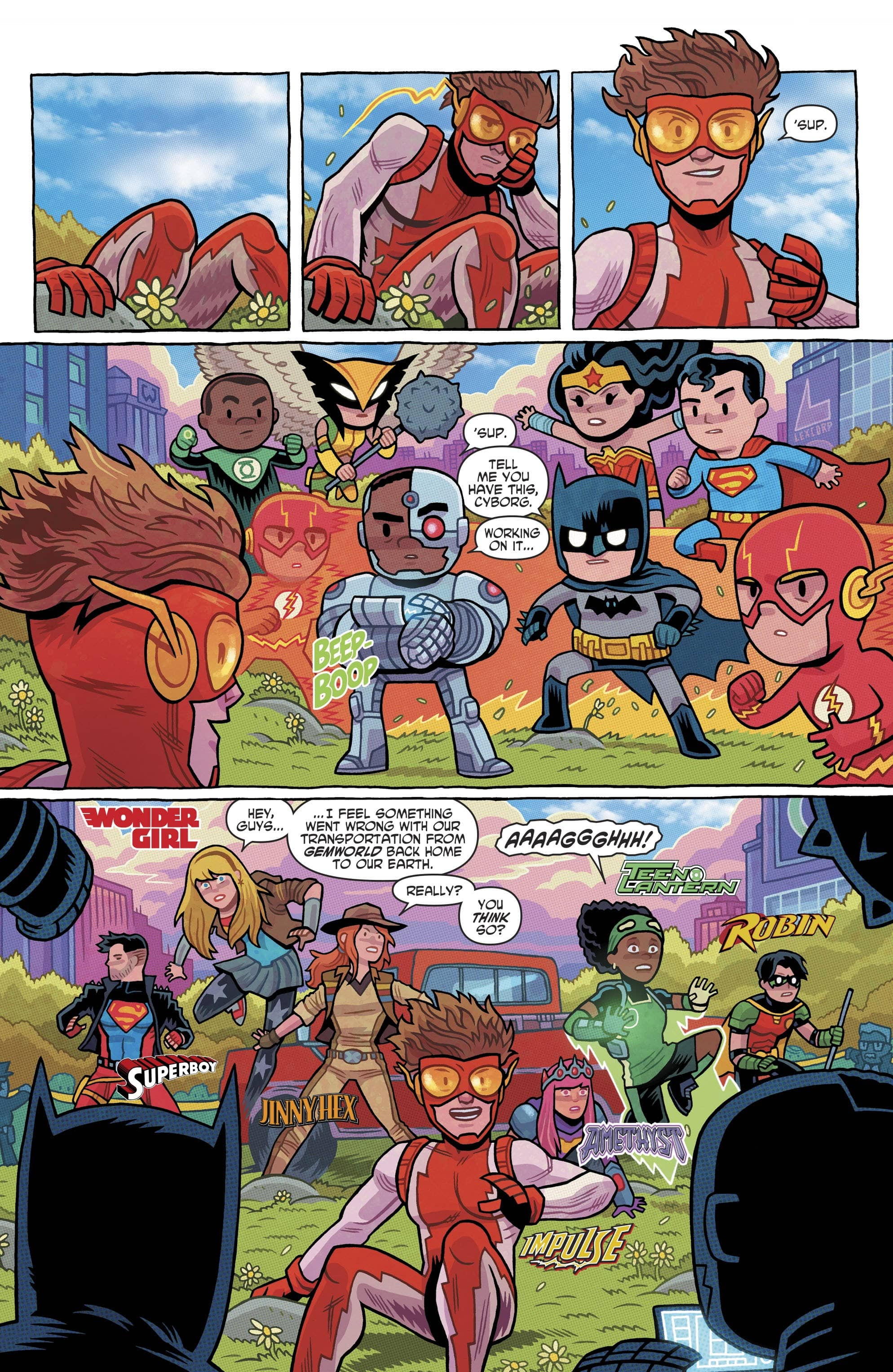 Young Justice #7: The Multiverse Map...I Had it Around Here ... on star wars rebels map, the simpsons map, steven universe map, amc walking dead map, true detective map, star trek map, revolution map, babylon 5 map, adventure time map, the walking dead map, prison break map, regular show map, sons of anarchy map, spongebob squarepants map, breaking bad map, american horror story map, bleach map, pokémon map, gravity falls map, house map,