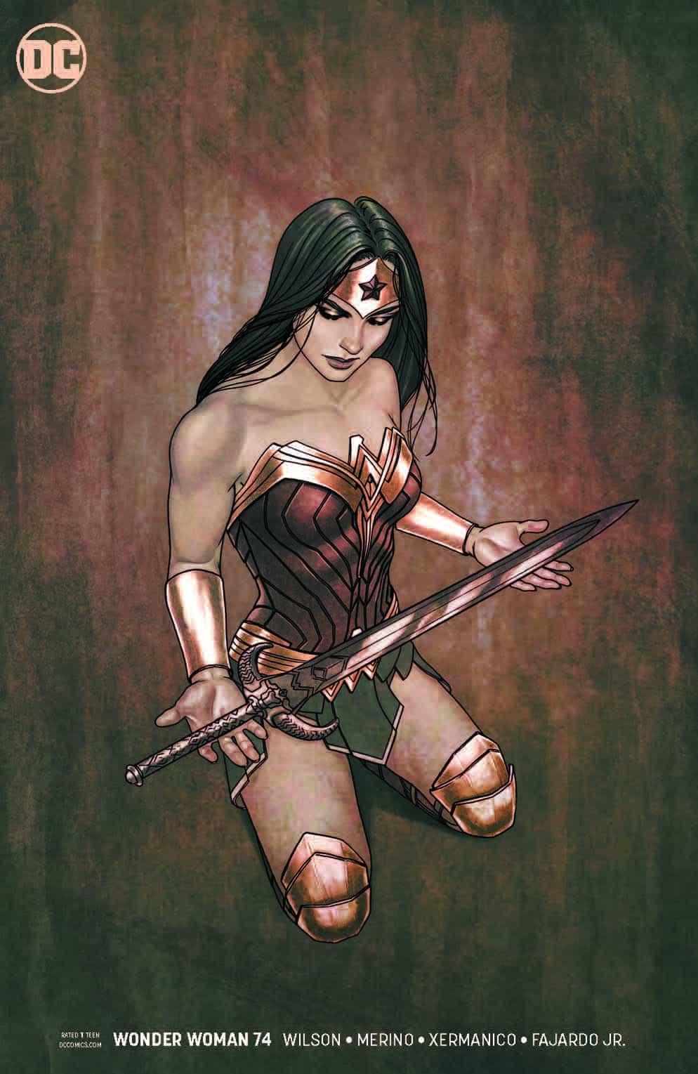 Wonder Woman #74: Friends and Enemies - Comic Watch