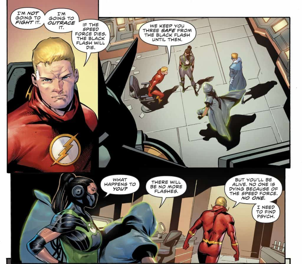 The Flash 78 Psyche You Out Comic Watch