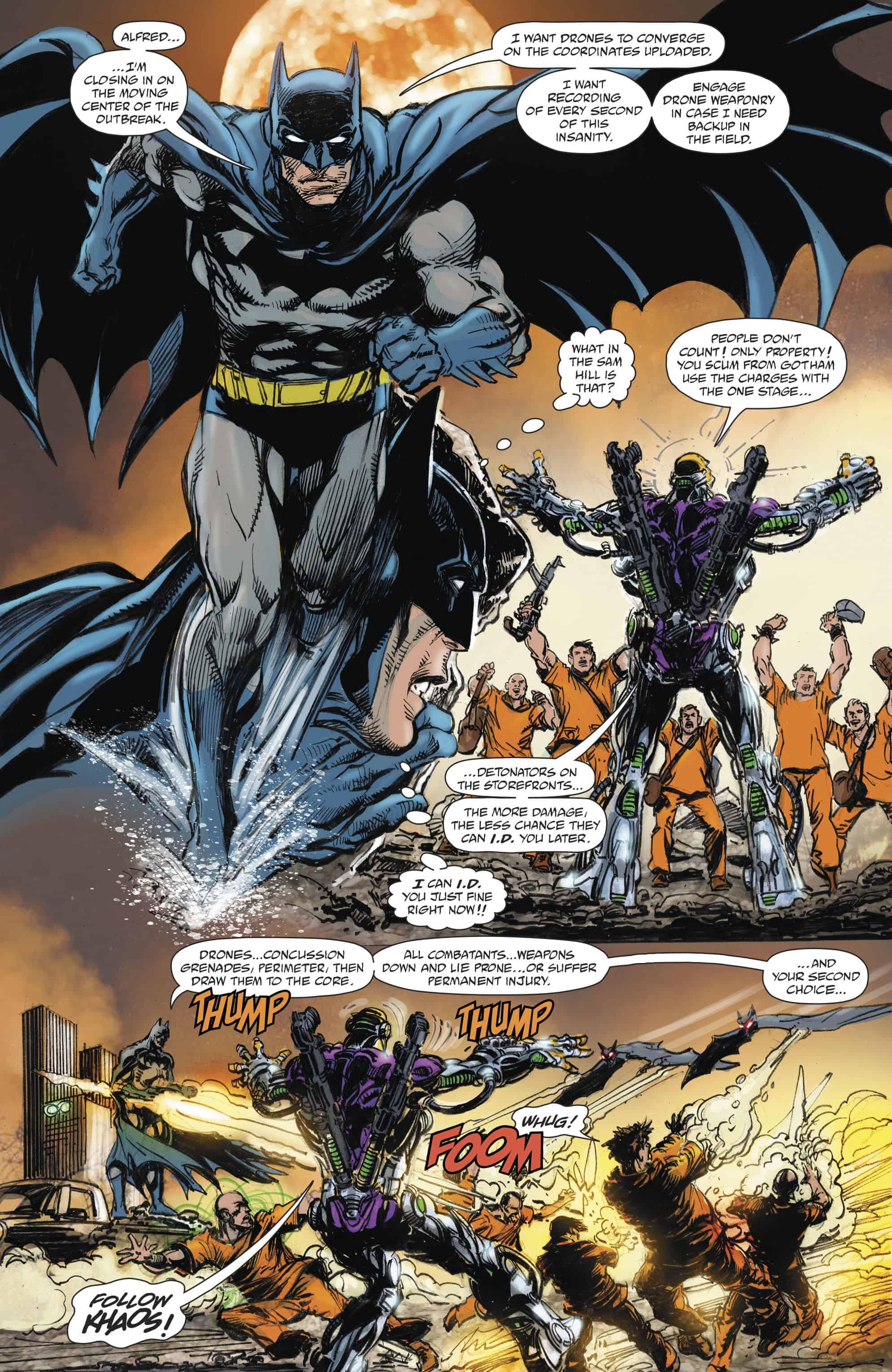 Batman vs Ra's Al Ghul #1 - Comic Watch