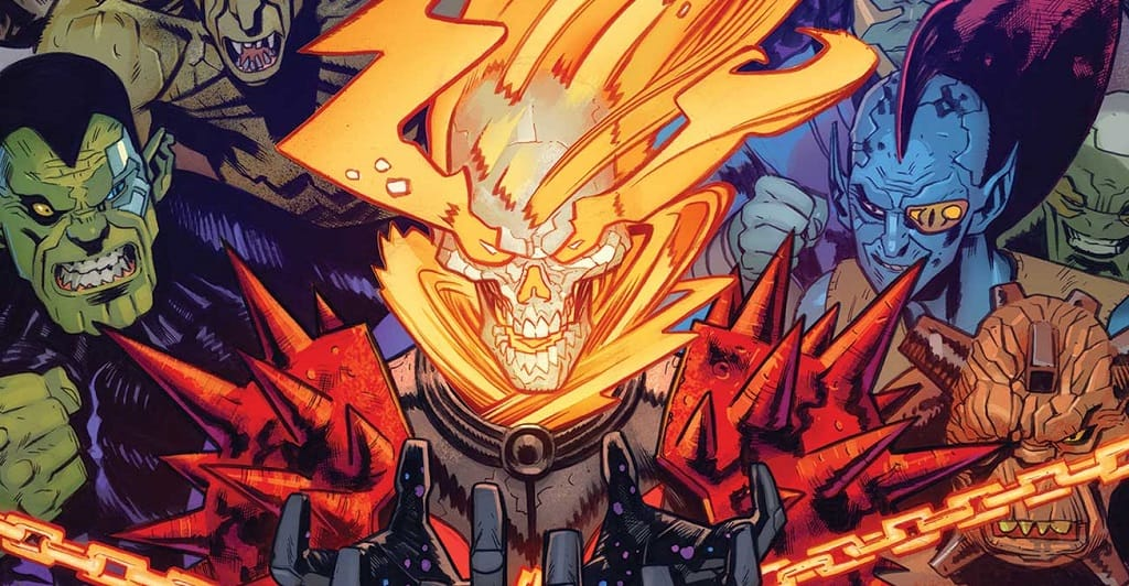 NEWS WATCH: Cosmic Ghost Rider Returns and He Wants Some